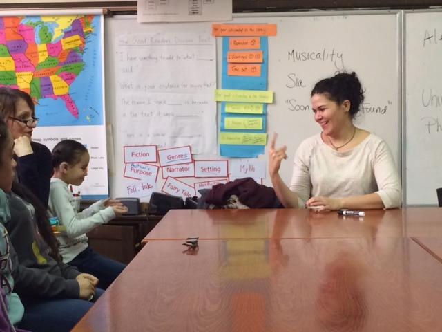 Alexandra Wailes visits PS 347